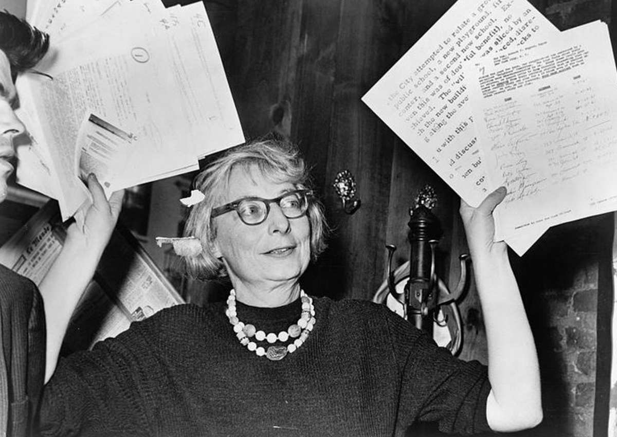 Jane Jacobs, Inspiration and the Internet